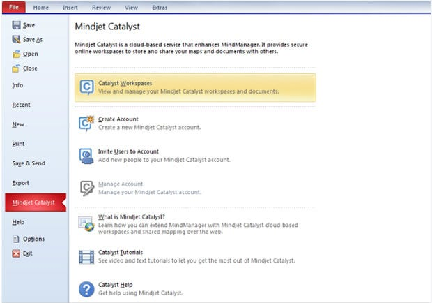 MindManager 9: Catalyst add-on
