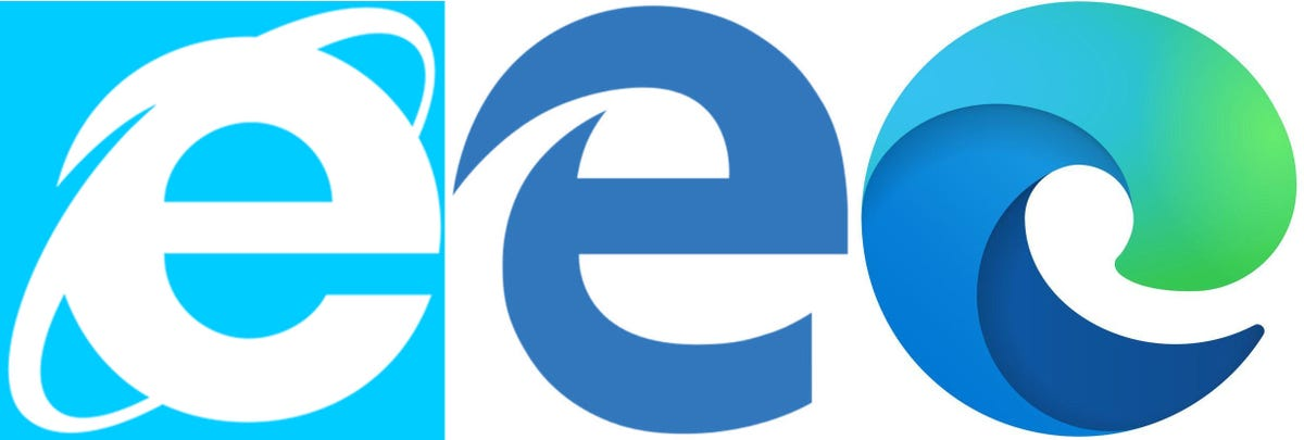 Microsoft S Edge Browser Gets A New Chromium Logo Zdnet