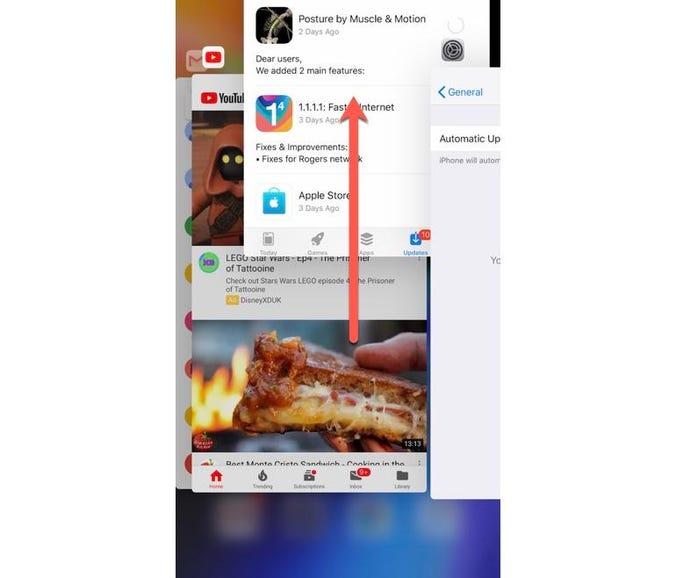 Force close a misbehaving app