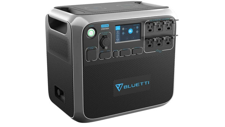 Hands on with the Bluetti AC200P portable power station 2000W to keep you going during extended power outages zdnet