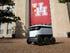 Autonomous robots serving dorm delivery munchies on campus