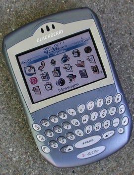 BlackBerry 7250 - when smartphones were email phones