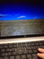 Cloud computing at keyboard 2 Photo by Joe McKendrick