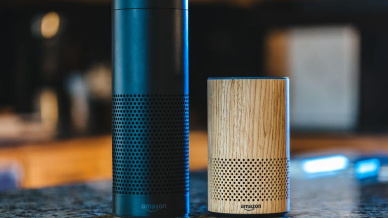 Amazon Alexa in the office and home