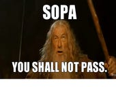 Making the best of a bad situation - SOPA mocking memes