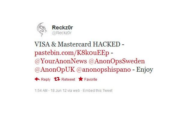 March: Global Payments hacked; MasterCard, Visa customers affected