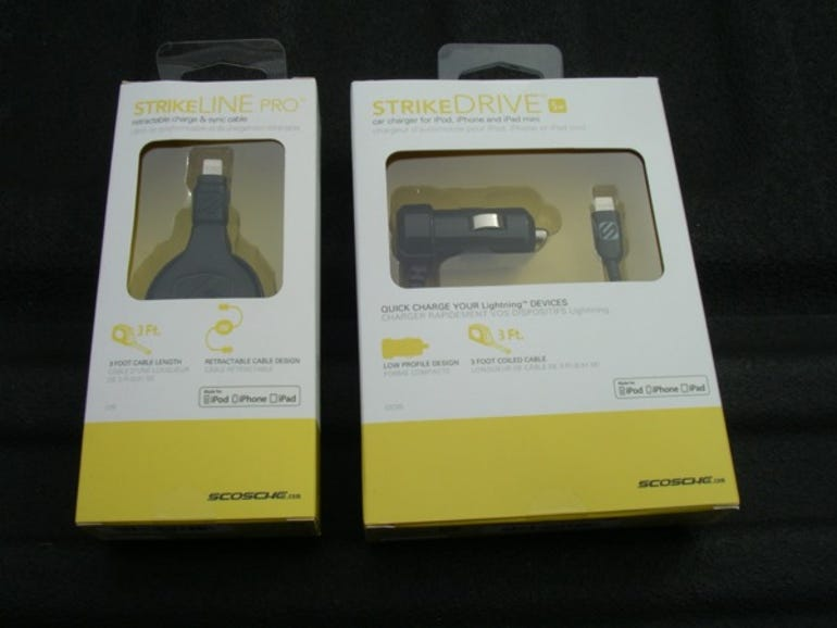 Scosche strikeLine and strikeDRIVE Lightning cables for Apple products (review)