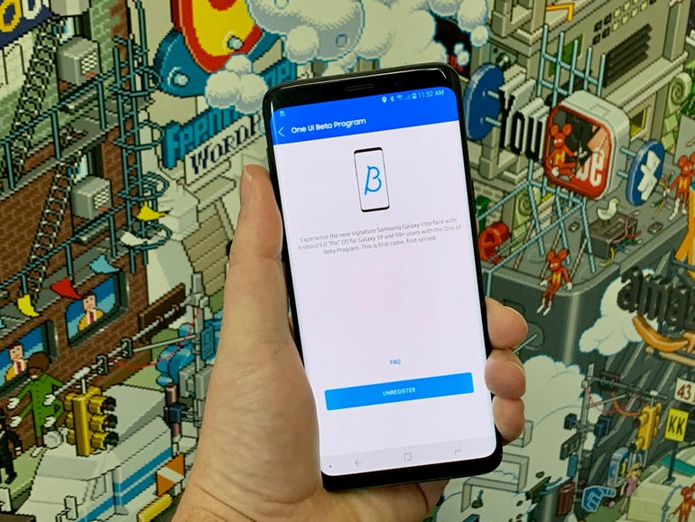 A look at Samsung's new One UI Android Skin