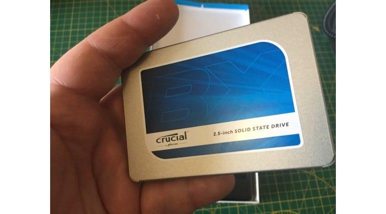 Crucial BX300 SSD