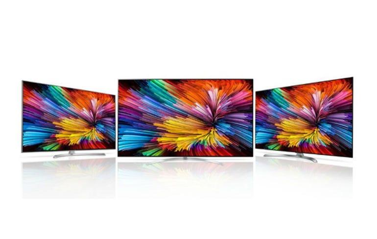 LG nano cell television sets