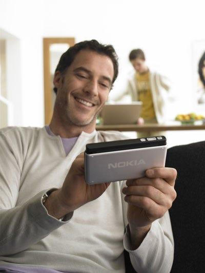 Nokia's mini-tablet Web browser