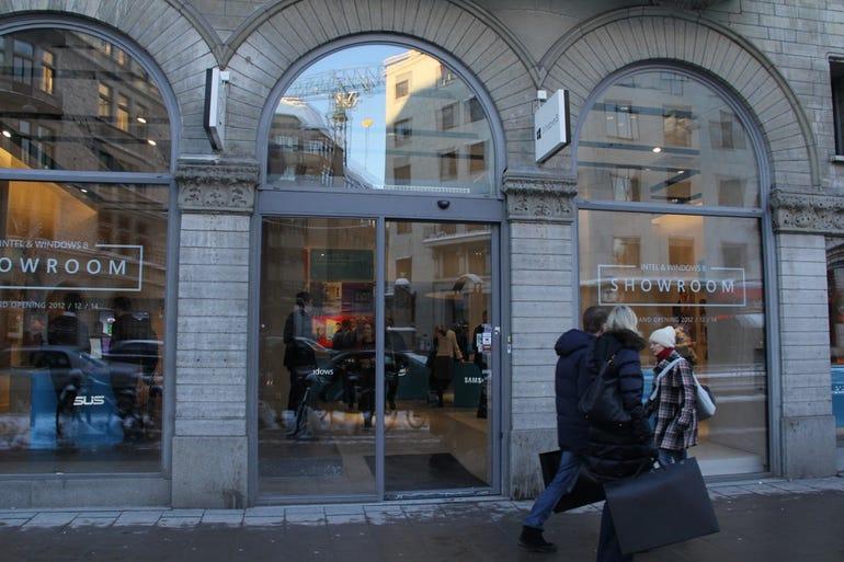 The Stockholm Wintel 8 store on Birger Jarlsgatan