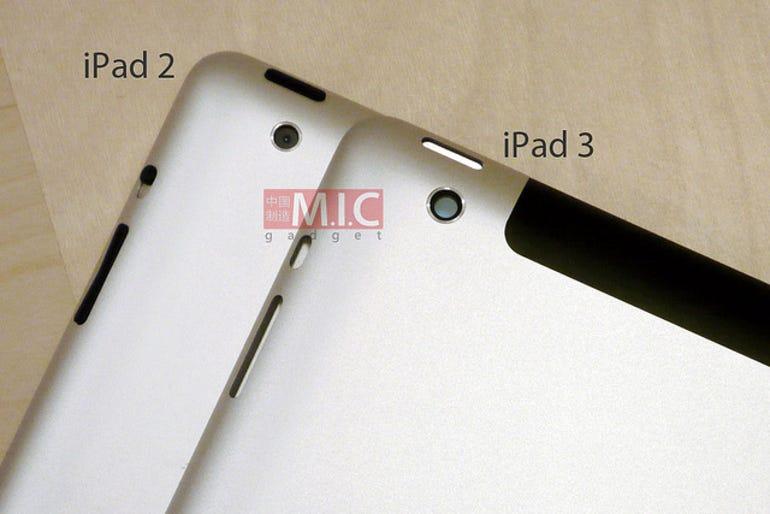 New photos of the iPad 3 camera hole. Jason O'Grady