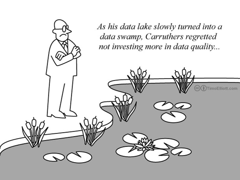 From Data Lake to Data Swamp