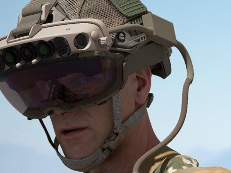 U.S. Army advances its 120,000 HoloLens-based headset deal with Microsoft | ZDNet