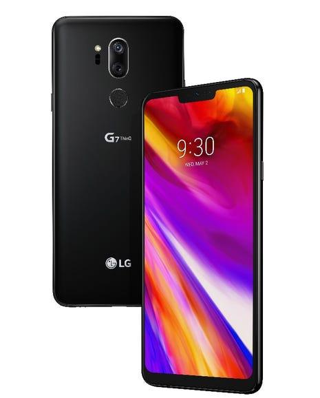 Aurora Black LG G7 ThinQ
