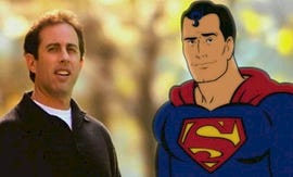 Jerry Seinfeld and Superman for American Express