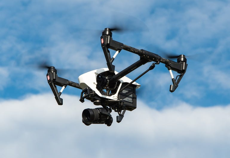 Sense and avoid technology for drones