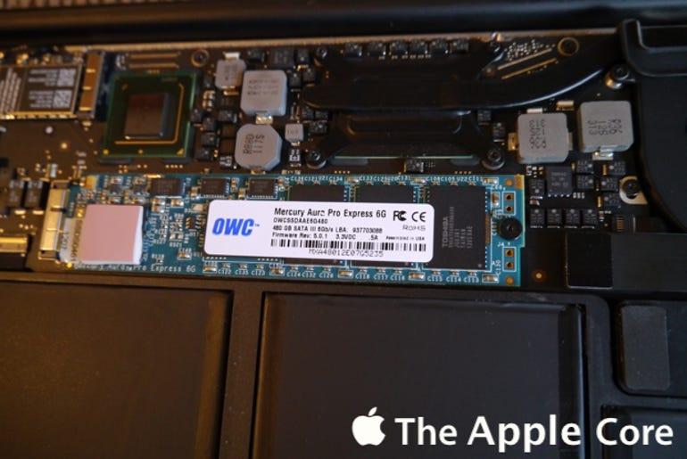 Review: OWC Mercury Aura Pro Express 6G SSD - Jason O'Grady