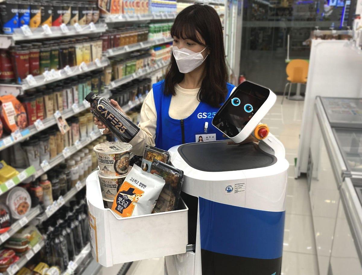 Corée du Sud: LG lance un service de livraison par robot