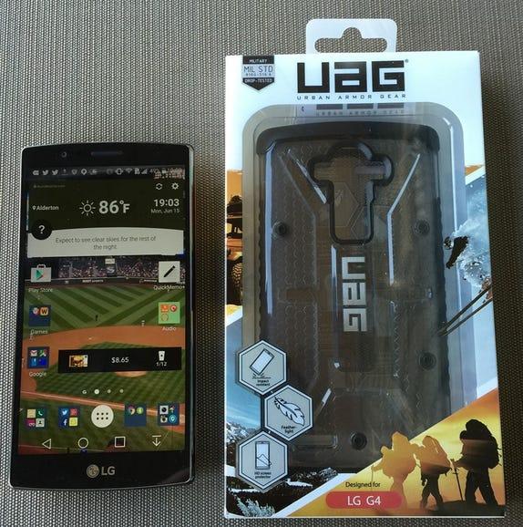 UAG LG G4 retail package