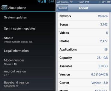 Nexus iPhone updated